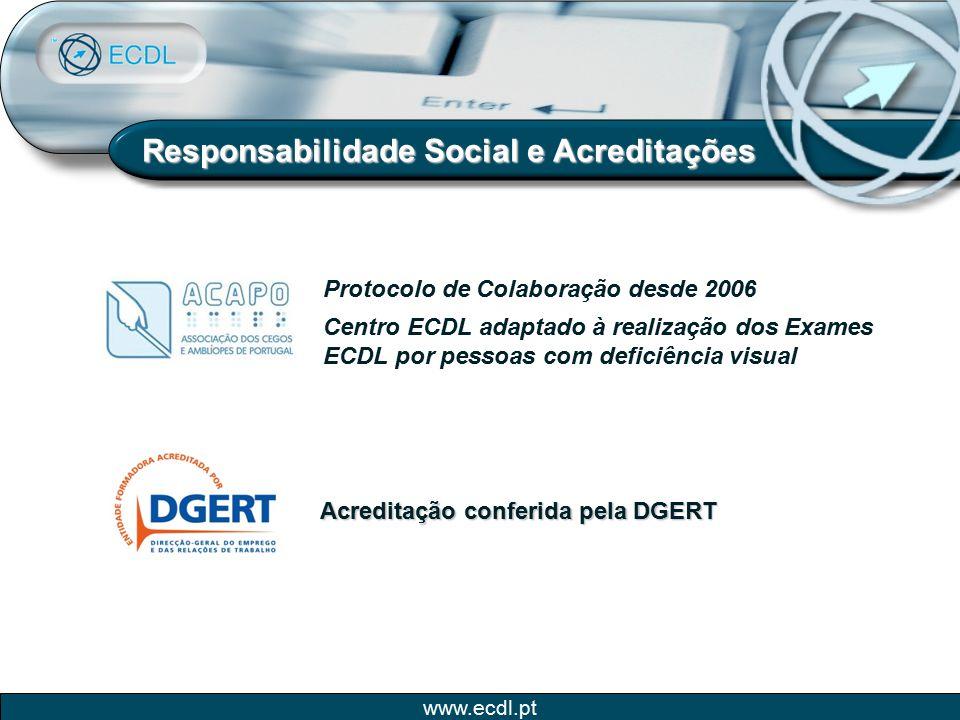 Responsabilidade Social e Acreditações