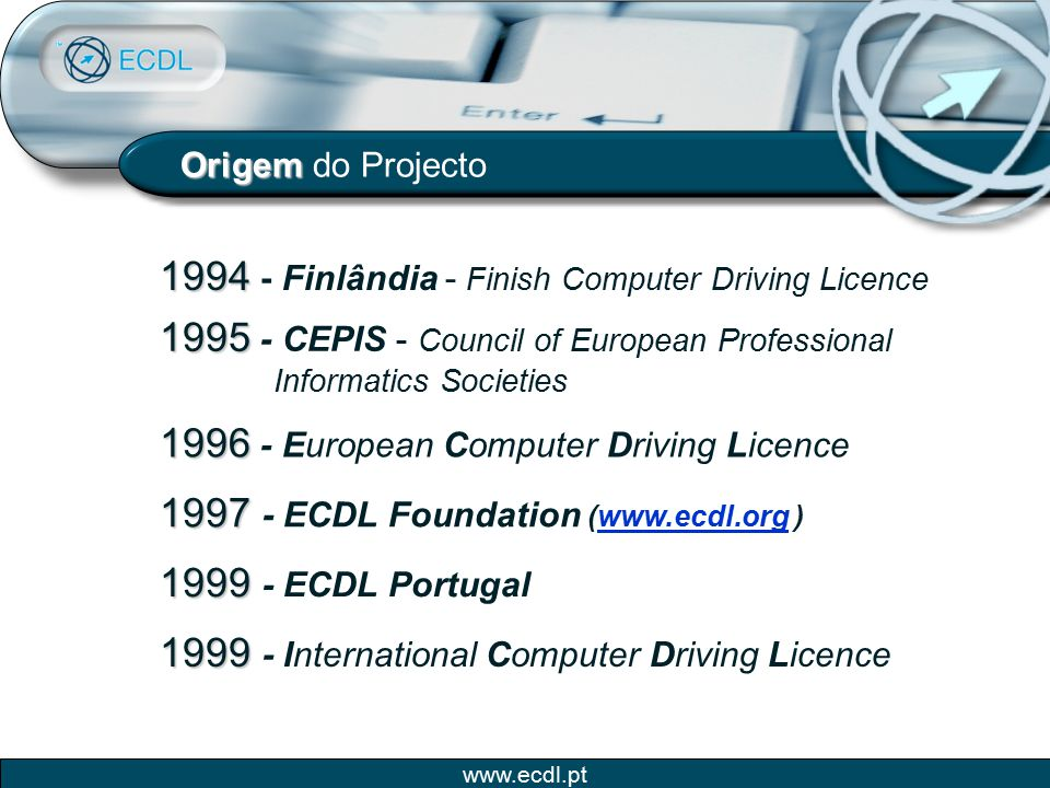 1994 - Finlândia - Finish Computer Driving Licence