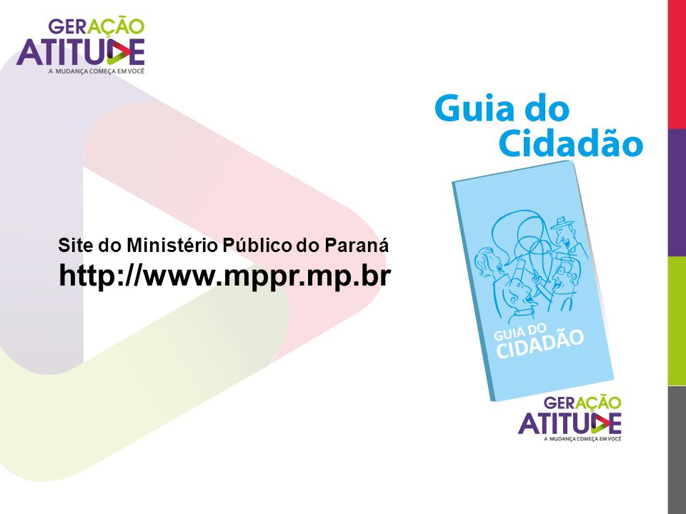 Site do Ministério Público do Paraná