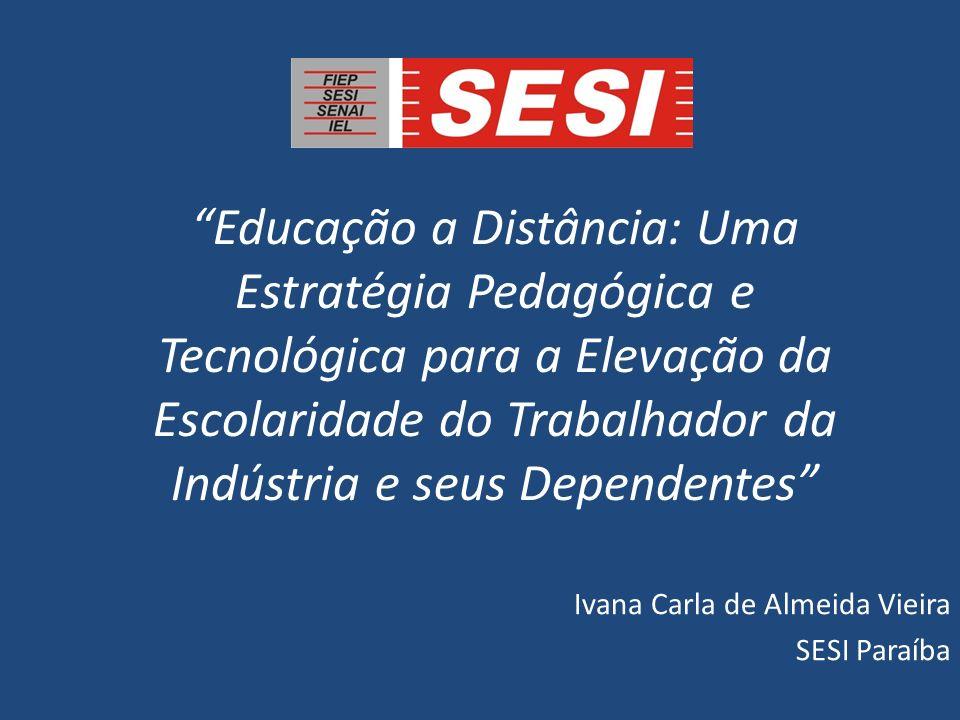 Ivana Carla de Almeida Vieira SESI Paraíba