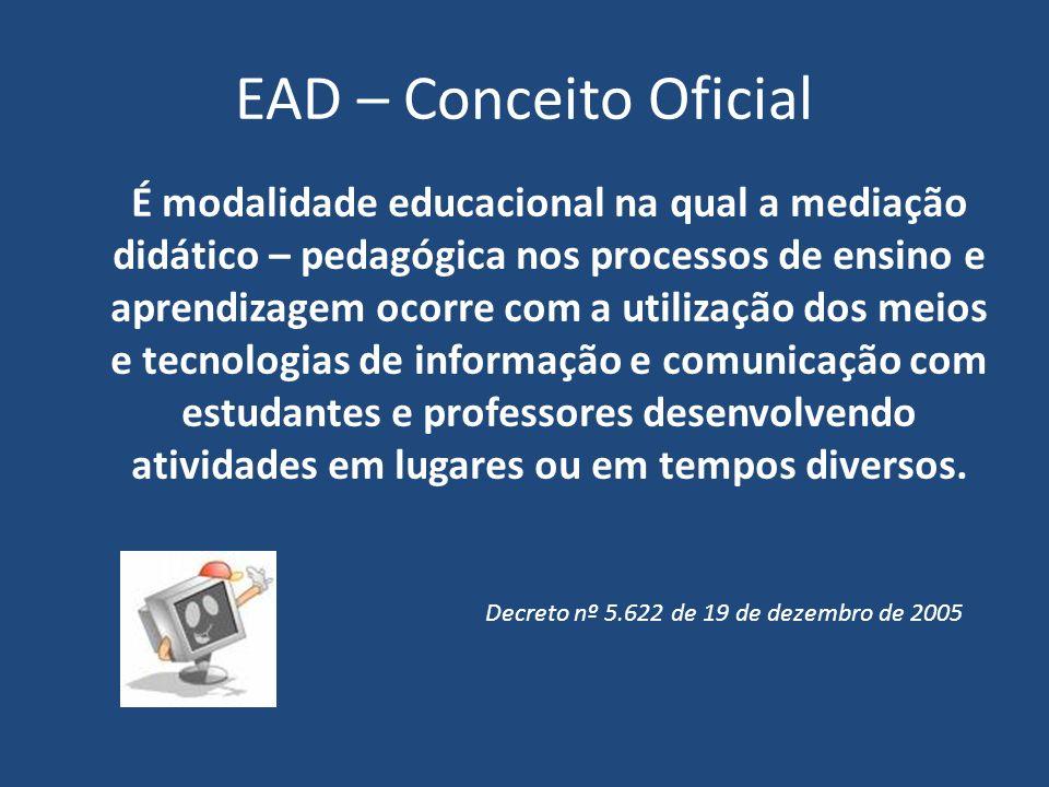 EAD – Conceito Oficial