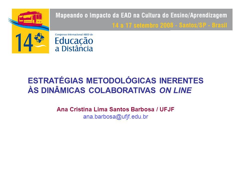 Ana Cristina Lima Santos Barbosa / UFJF