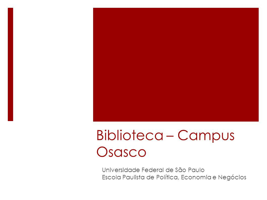 Biblioteca – Campus Osasco