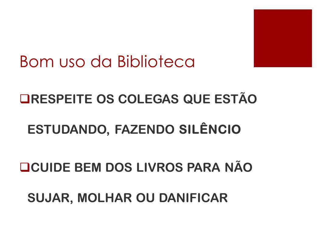 <cabeçalho> <data/hora> Bom uso da Biblioteca. RESPEITE OS COLEGAS QUE ESTÃO ESTUDANDO, FAZENDO SILÊNCIO.