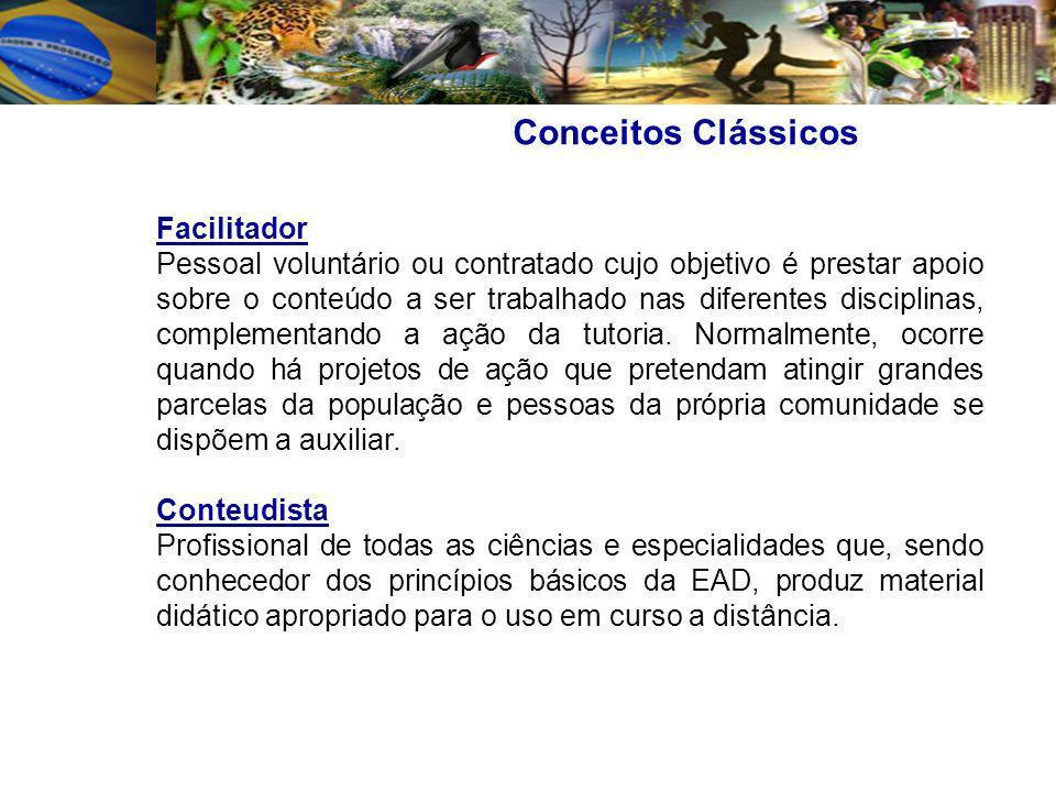 Conceitos Clássicos Facilitador