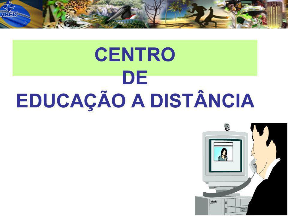 CENTRO DE EDUCAÇÃO A DISTÂNCIA