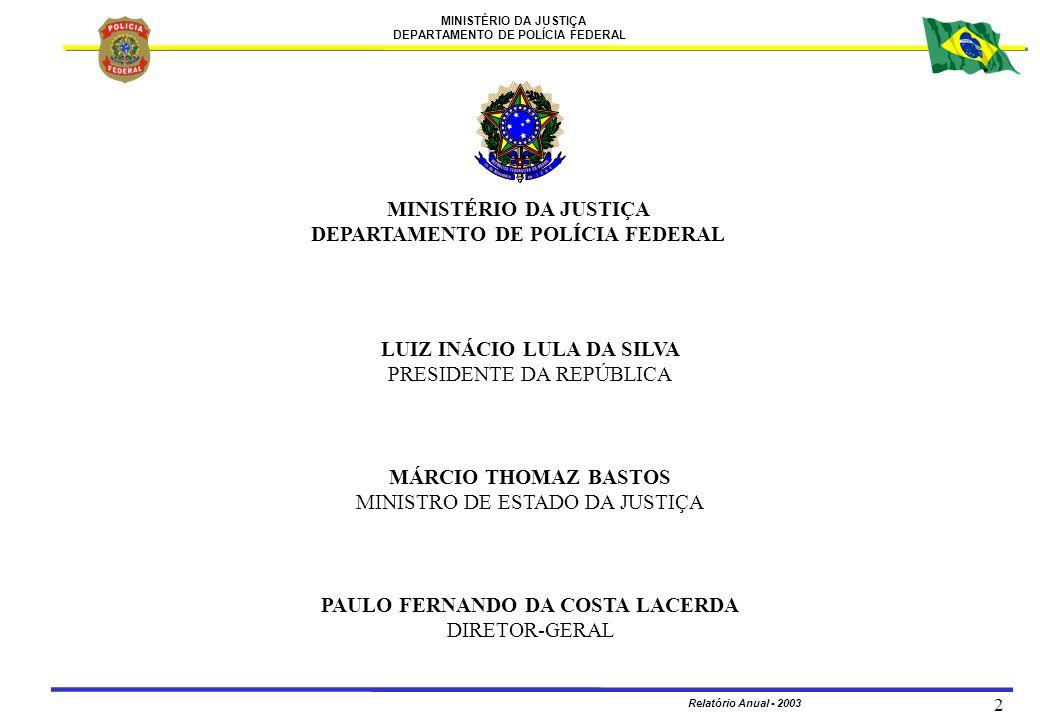 DEPARTAMENTO DE POLÍCIA FEDERAL PAULO FERNANDO DA COSTA LACERDA