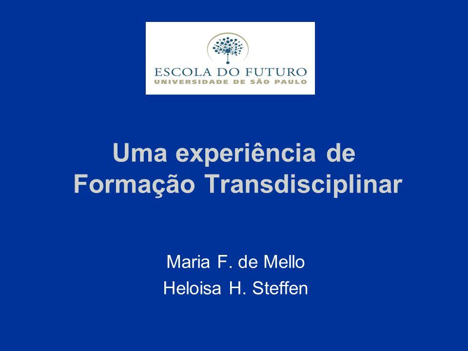 Uma experiência de Formação Transdisciplinar