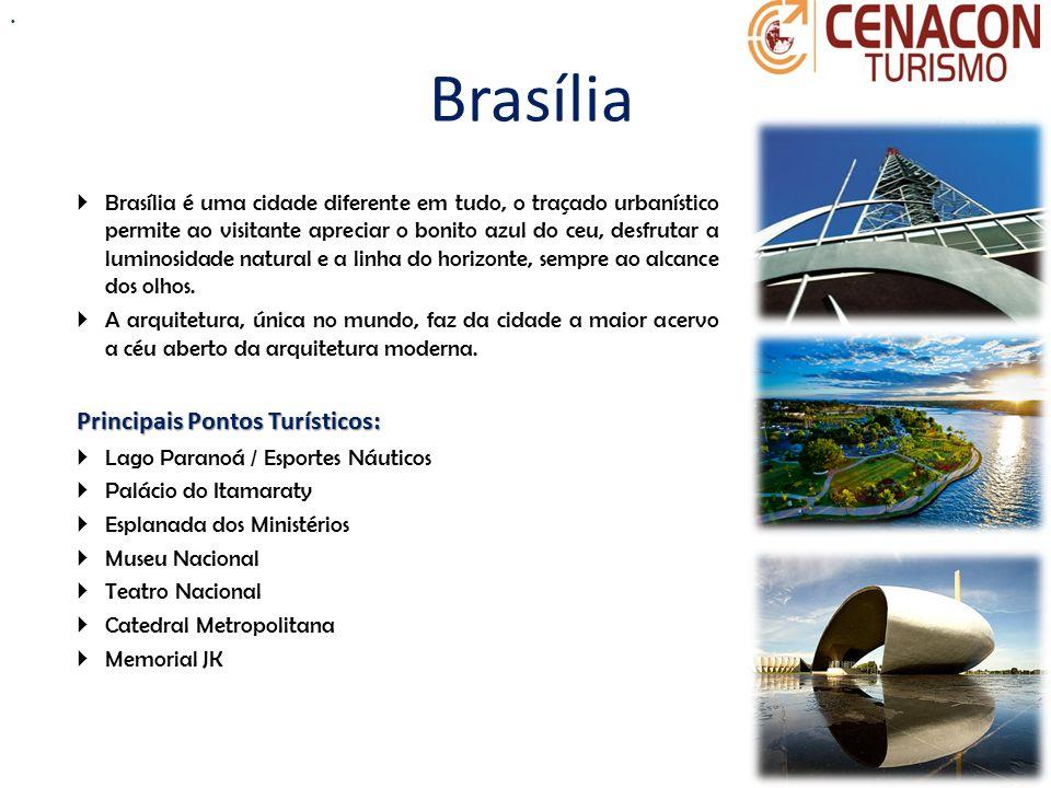 Brasília Principais Pontos Turísticos: