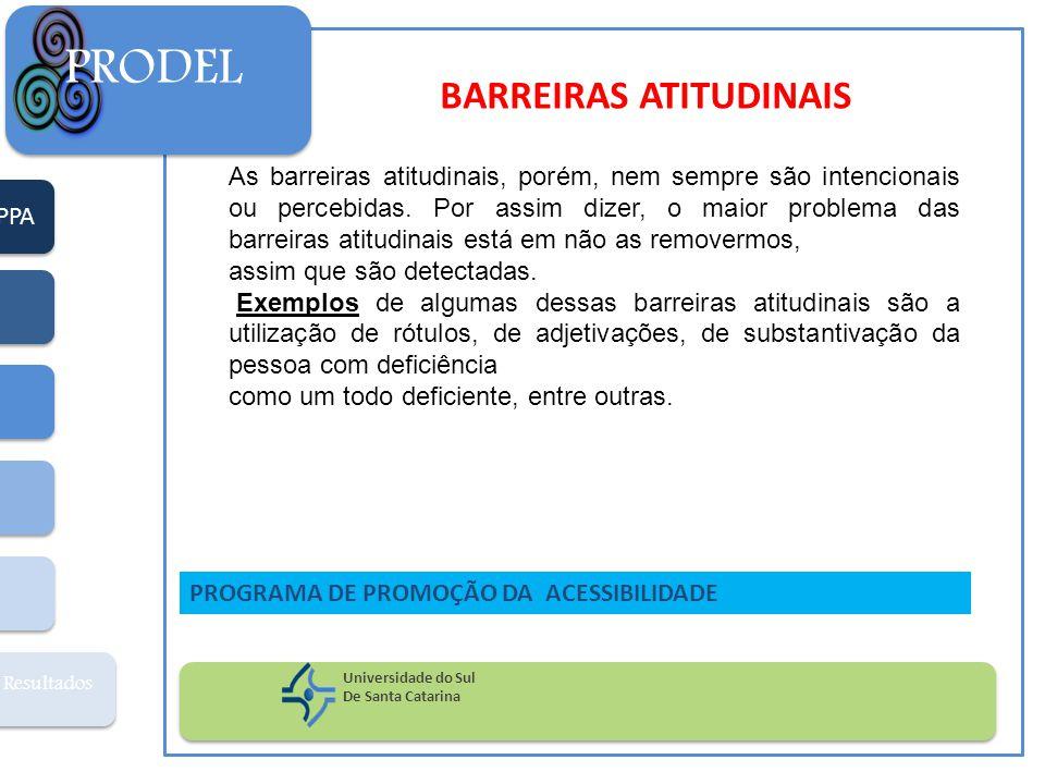 BARREIRAS ATITUDINAIS