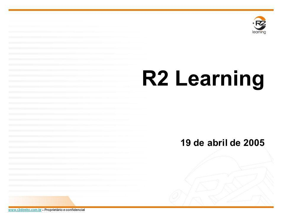 R2 Learning 19 de abril de 2005