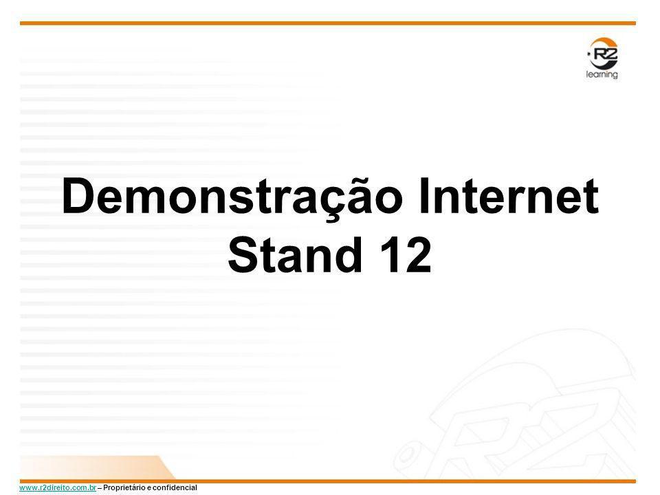 Demonstração Internet Stand 12