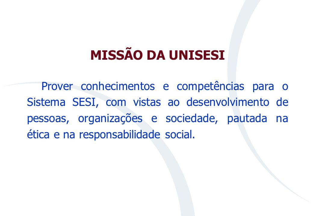 MISSÃO DA UNISESI