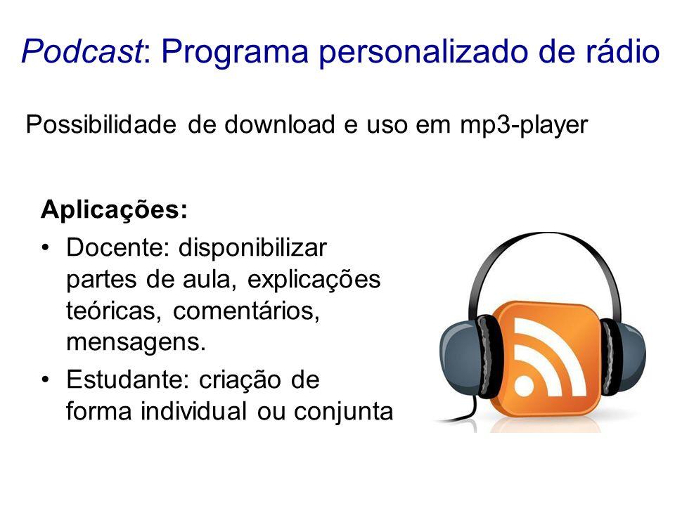 Podcast: Programa personalizado de rádio