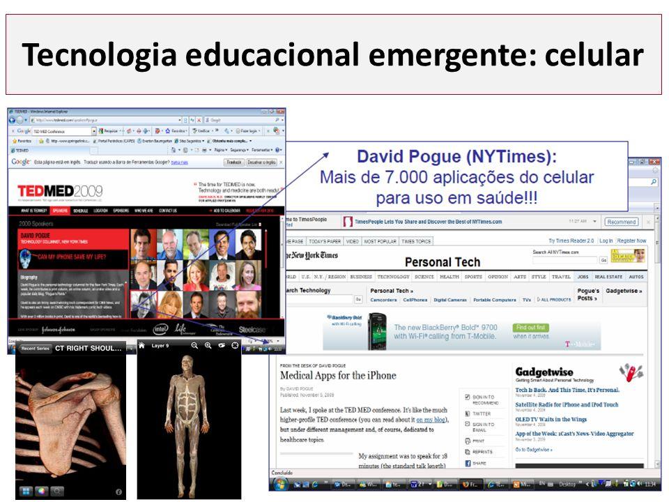 Tecnologia educacional emergente: celular