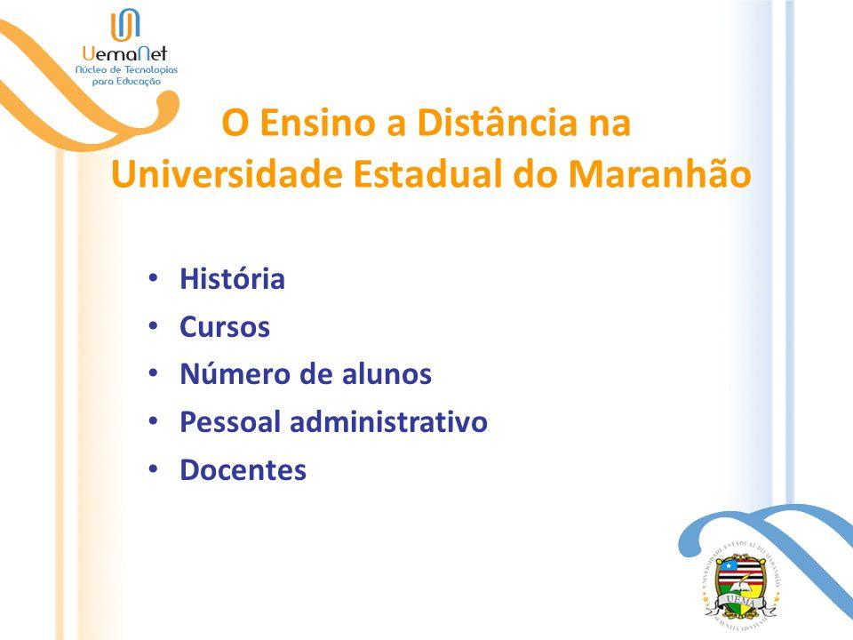O Ensino a Distância na Universidade Estadual do Maranhão