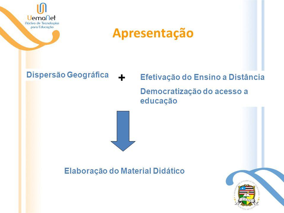 Apresentação + Dispersão Geográfica Efetivação do Ensino a Distância