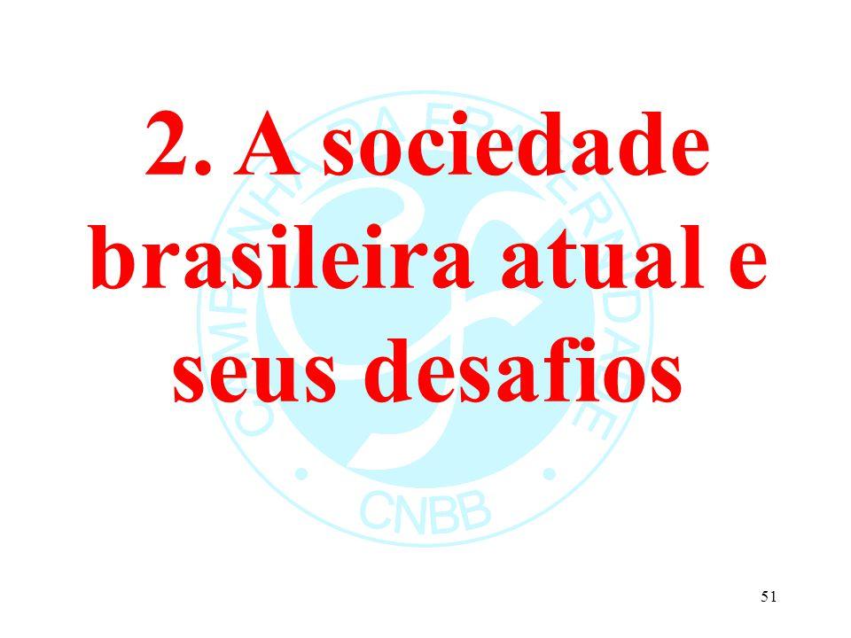 2. A sociedade brasileira atual e seus desafios