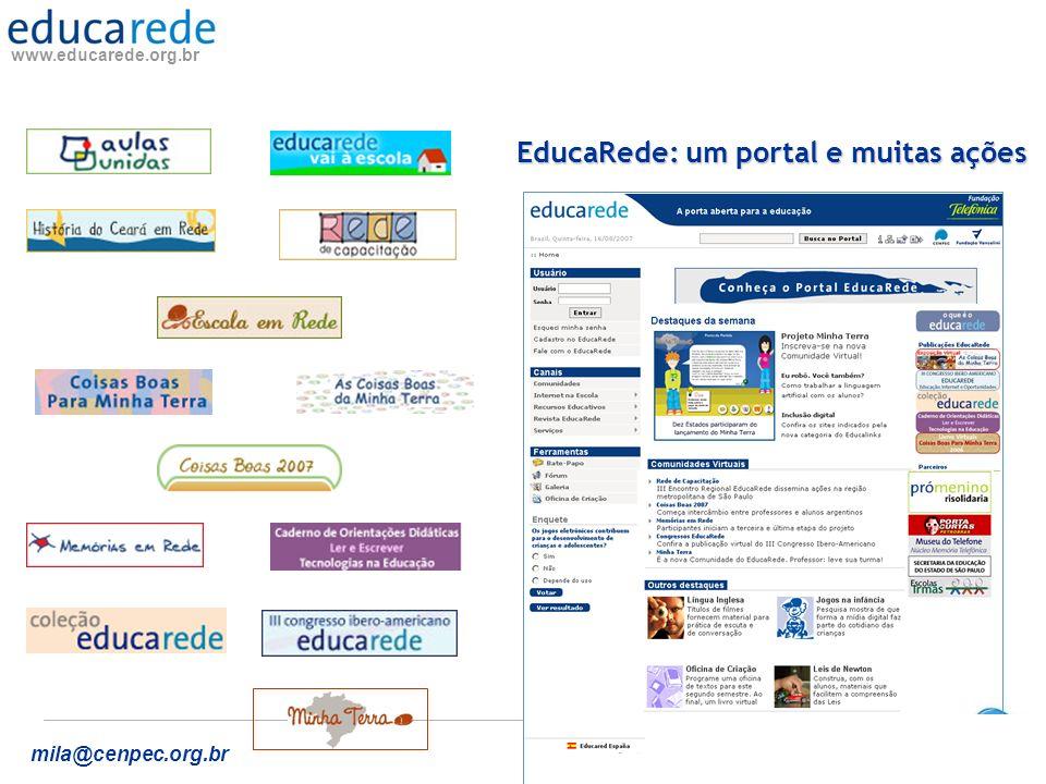 EducaRede: um portal e muitas ações