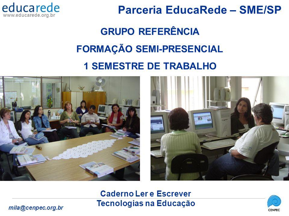 Parceria EducaRede – SME/SP