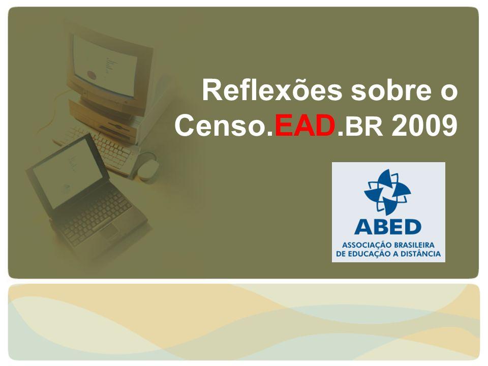 Reflexões sobre o Censo.EAD.BR 2009