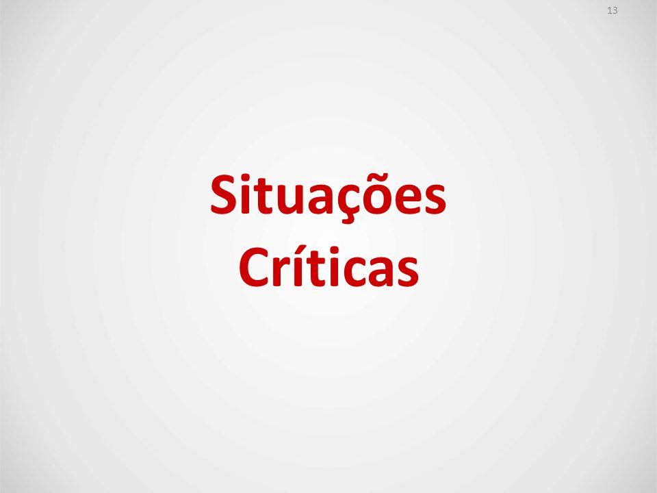 13 Situações Críticas