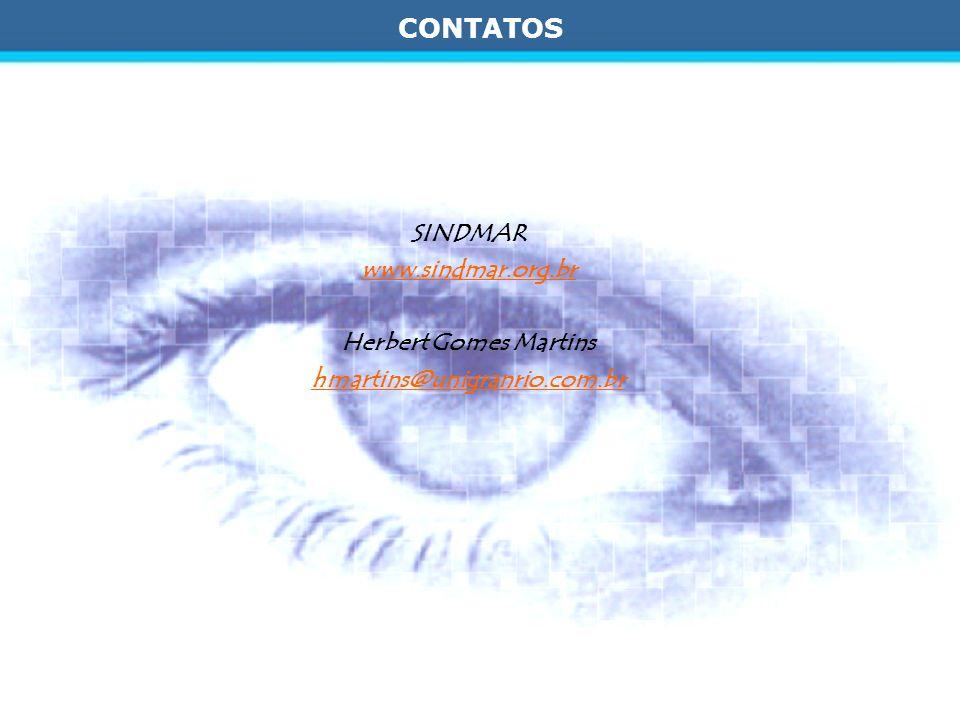 CONTATOS SINDMAR www.sindmar.org.br Herbert Gomes Martins