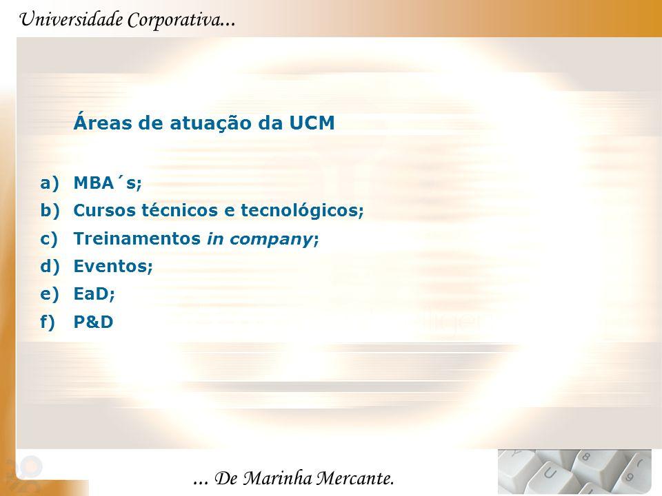 ... De Marinha Mercante. Universidade Corporativa...
