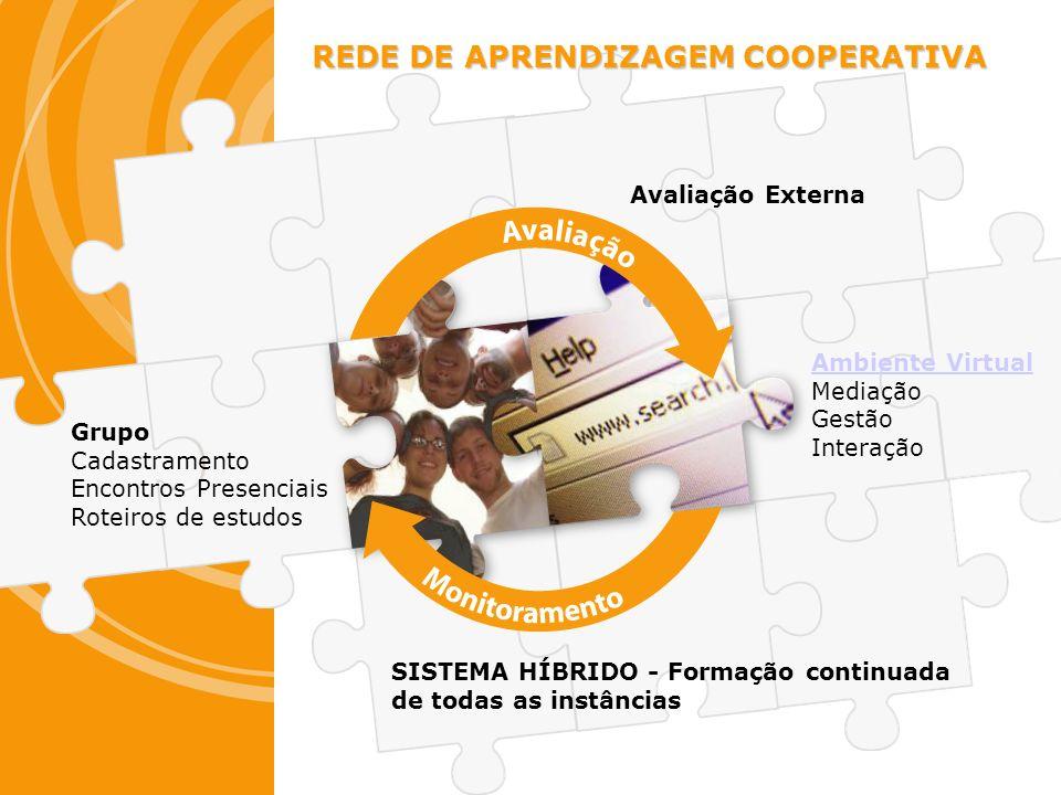 REDE DE APRENDIZAGEM COOPERATIVA