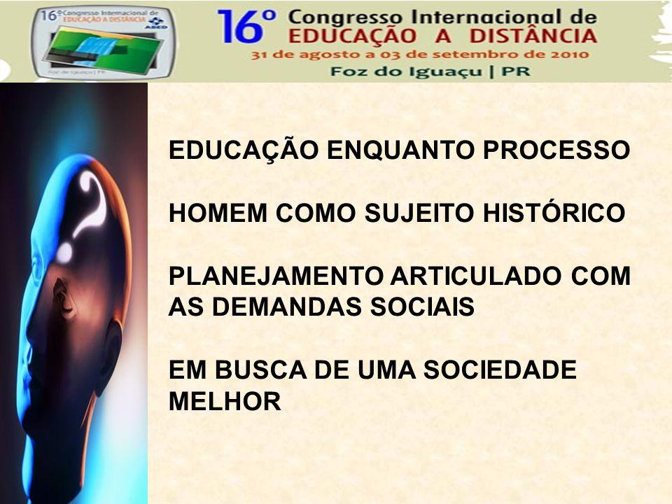 EDUCAÇÃO ENQUANTO PROCESSO