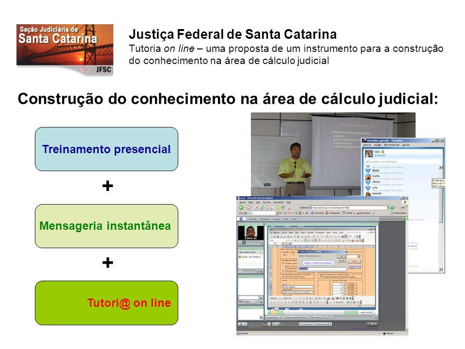 Construção do conhecimento na área de cálculo judicial: