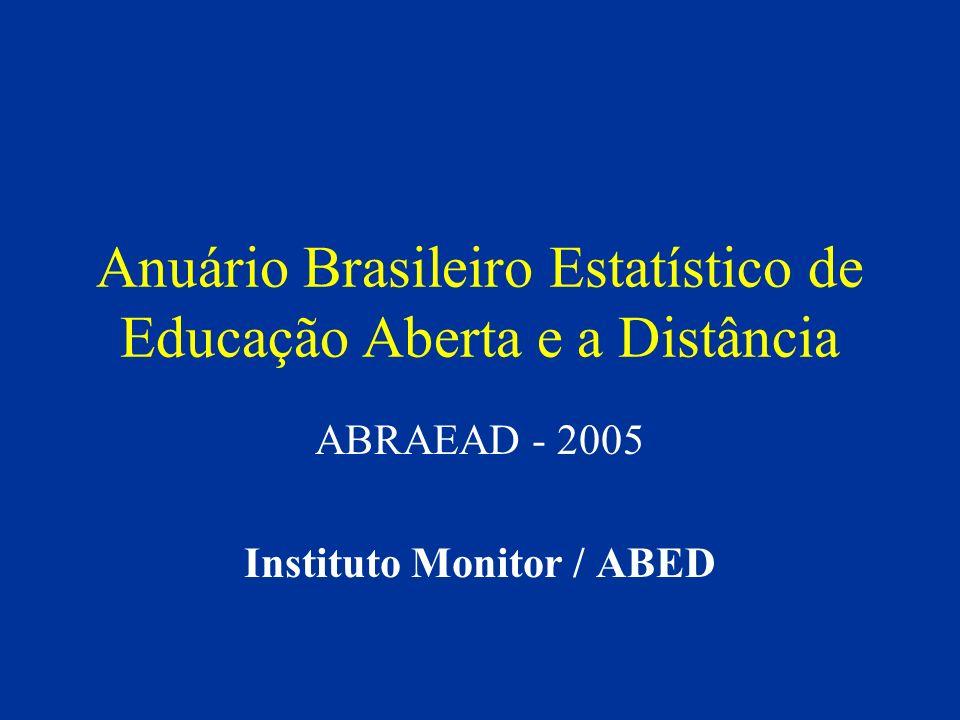 Anuário Brasileiro Estatístico de Educação Aberta e a Distância