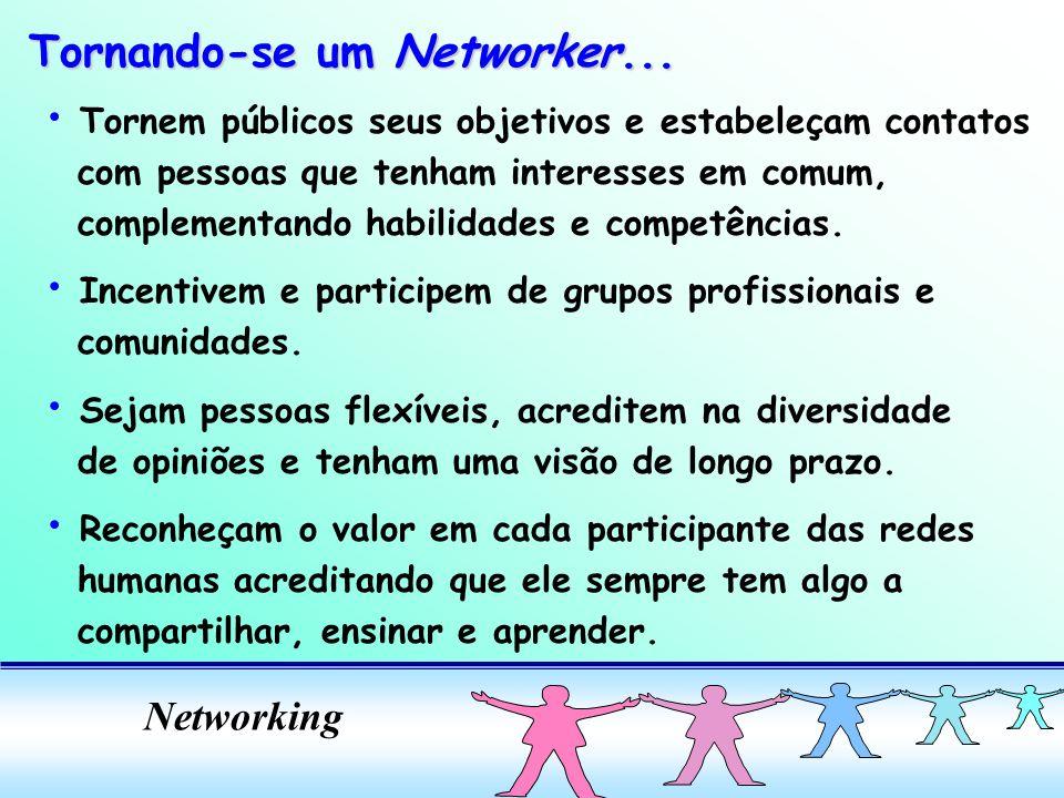 Tornando-se um Networker...