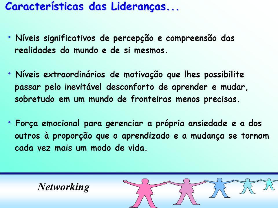 Características das Lideranças...