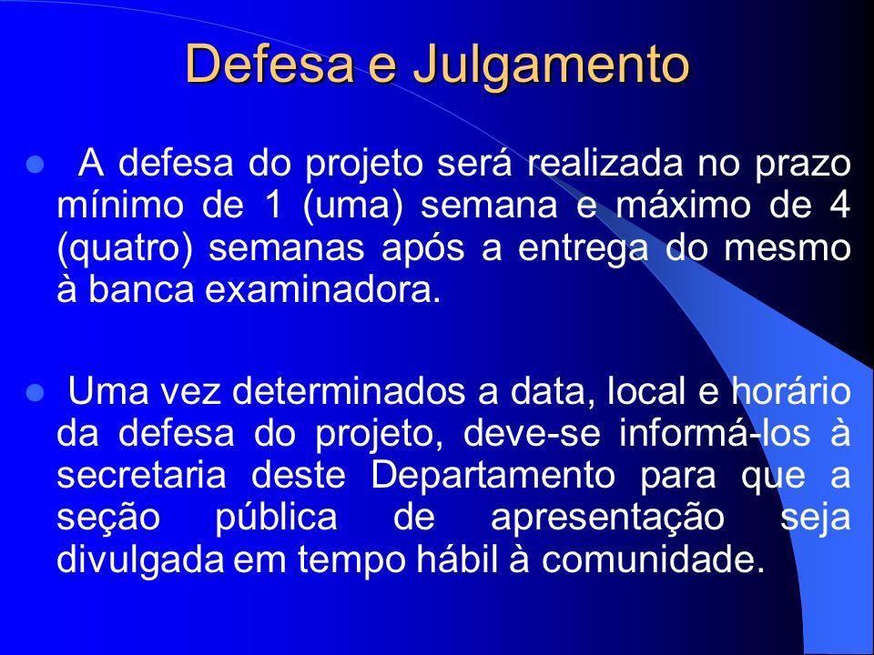 Defesa e Julgamento
