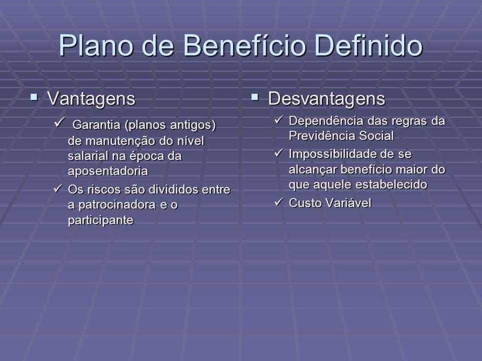 Plano de Benefício Definido