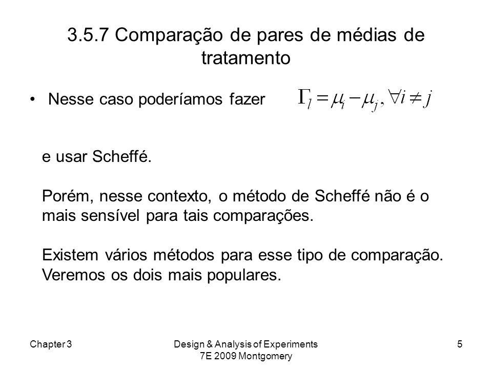 3.5.7 Comparação de pares de médias de tratamento