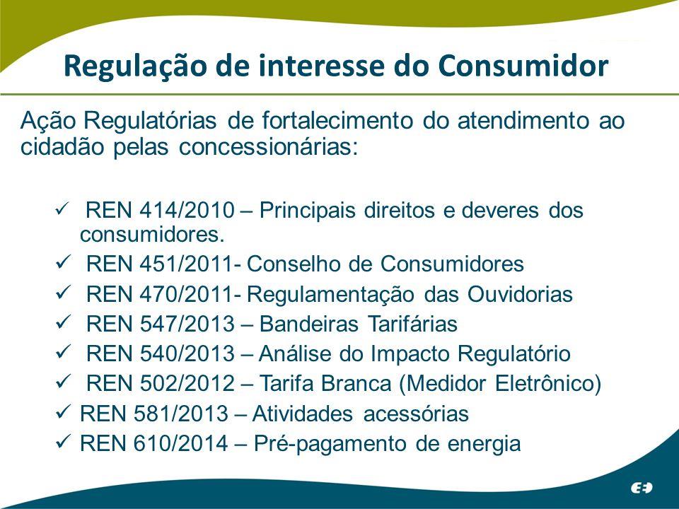 Regulação de interesse do Consumidor