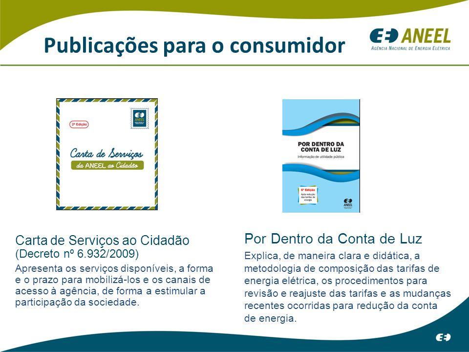 Publicações para o consumidor