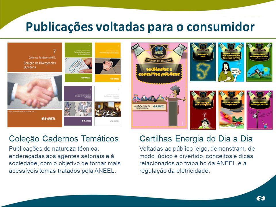 Publicações voltadas para o consumidor