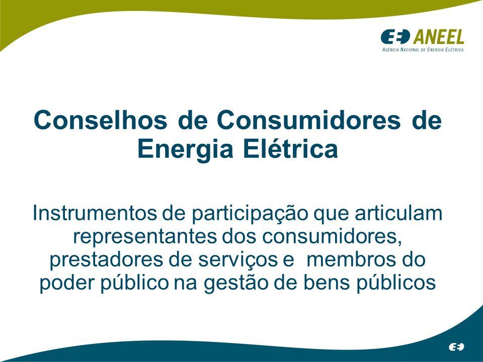 Conselhos de Consumidores de Energia Elétrica
