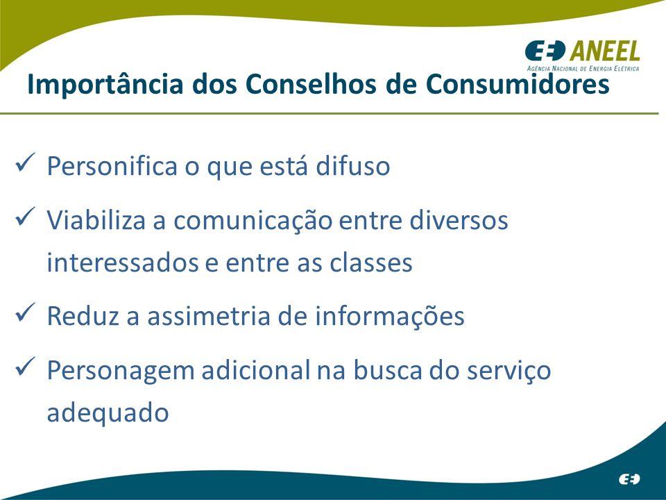 Importância dos Conselhos de Consumidores