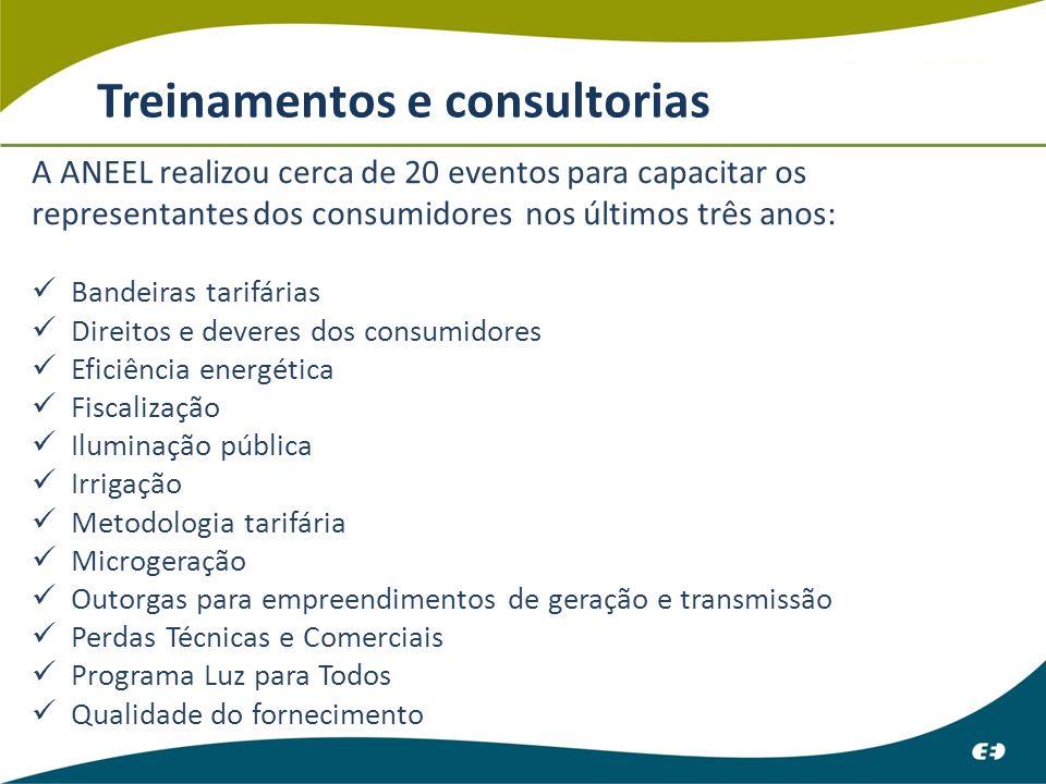 Treinamentos e consultorias
