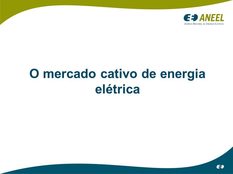 O mercado cativo de energia elétrica