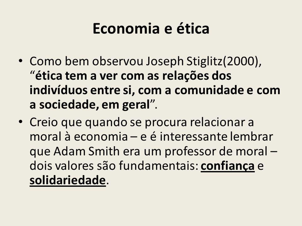Economia e ética