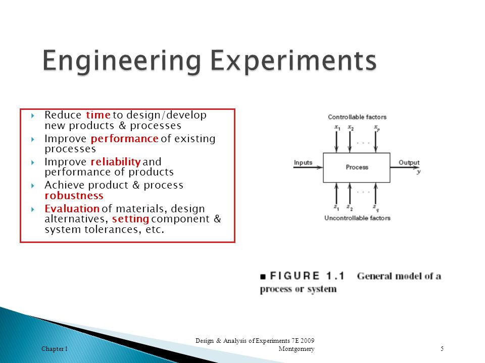 Engineering Experiments