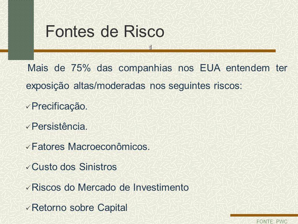Fontes de Risco Precificação. Persistência. Fatores Macroeconômicos.
