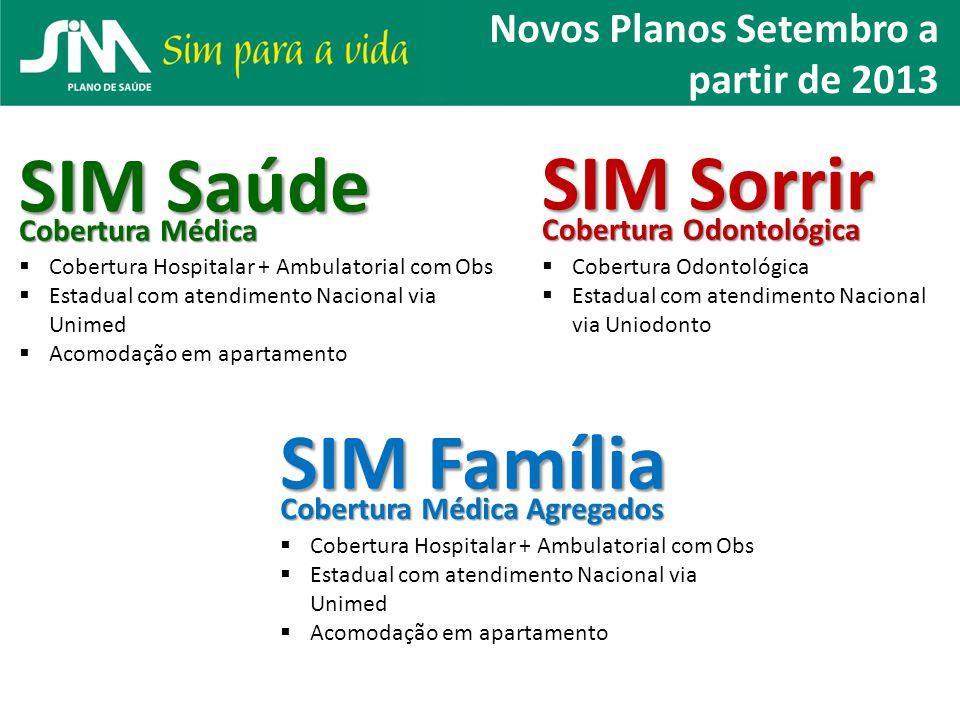 SIM Saúde SIM Sorrir SIM Família