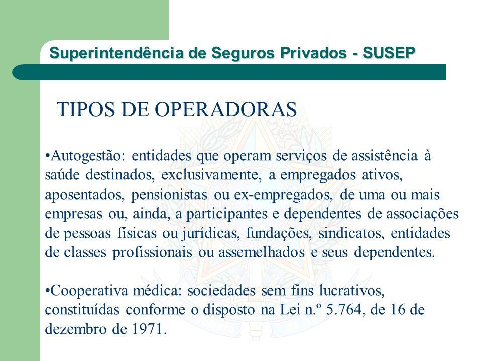 TIPOS DE OPERADORAS