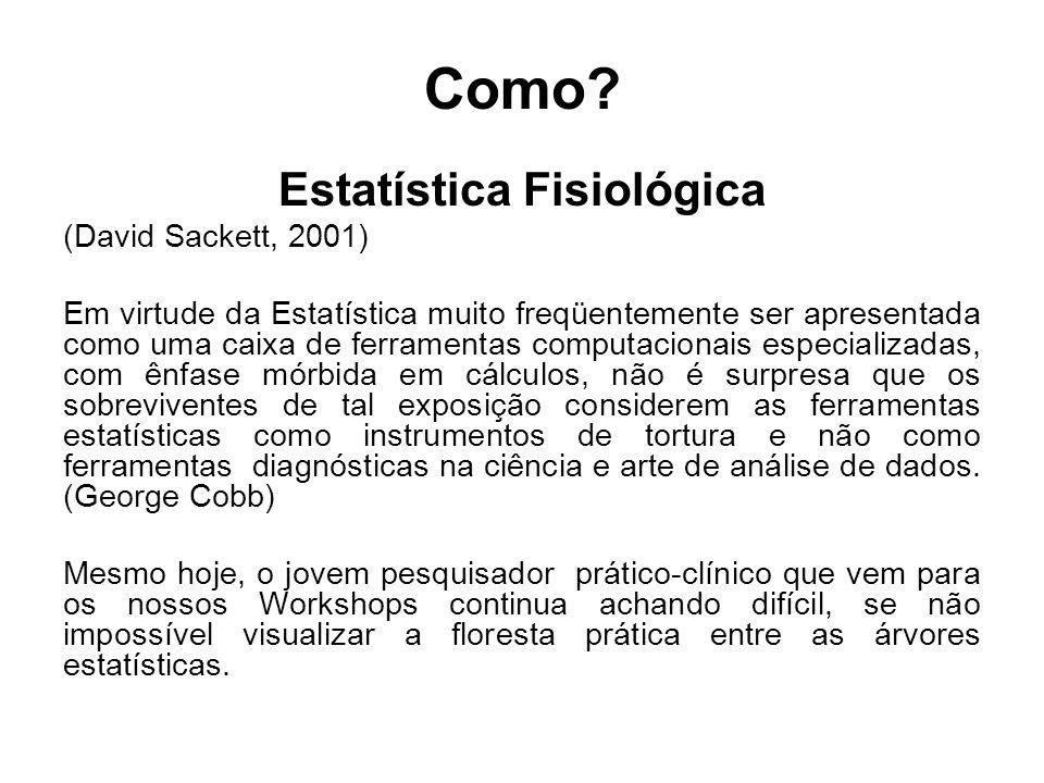 Estatística Fisiológica